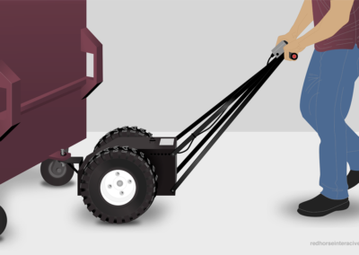 Machinery demo illustration