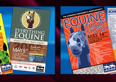 Horse Tradeshow Collateral