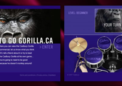 Cadbury Gorilla Game